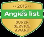 2015 Angies List – Super Service Award