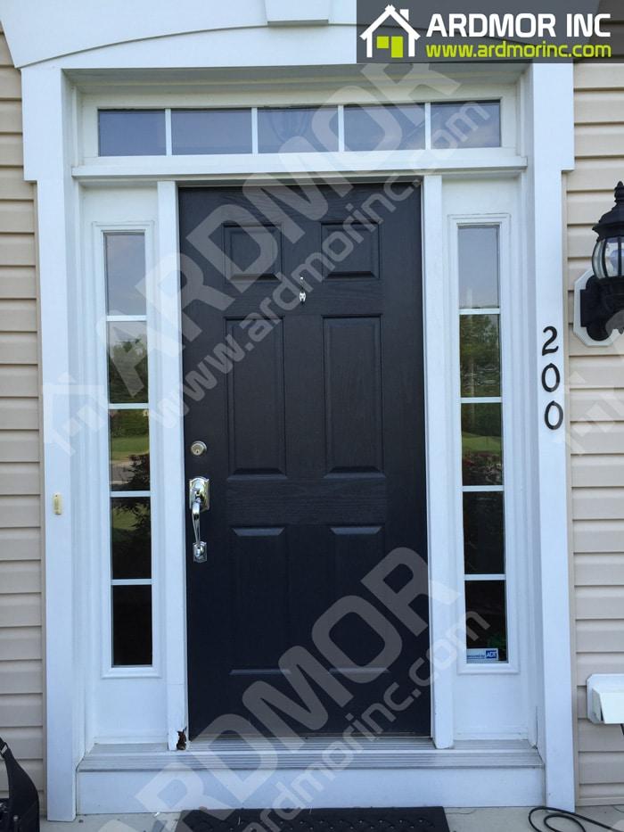 Andersen-Storm-Door-Replacement-East-Greenwich-Township-Before