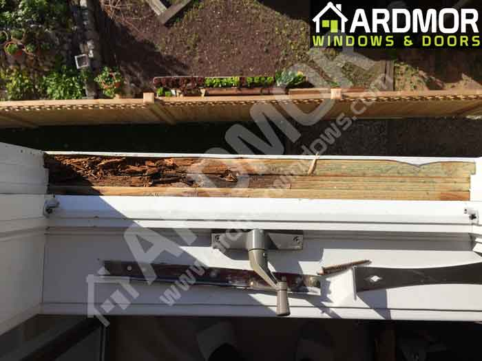 Andersen Window Sill Replacement