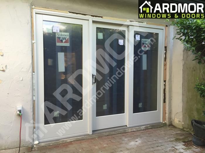 Andersen_3_Panel_Door_Installation_in_Denville_NJ_in_process