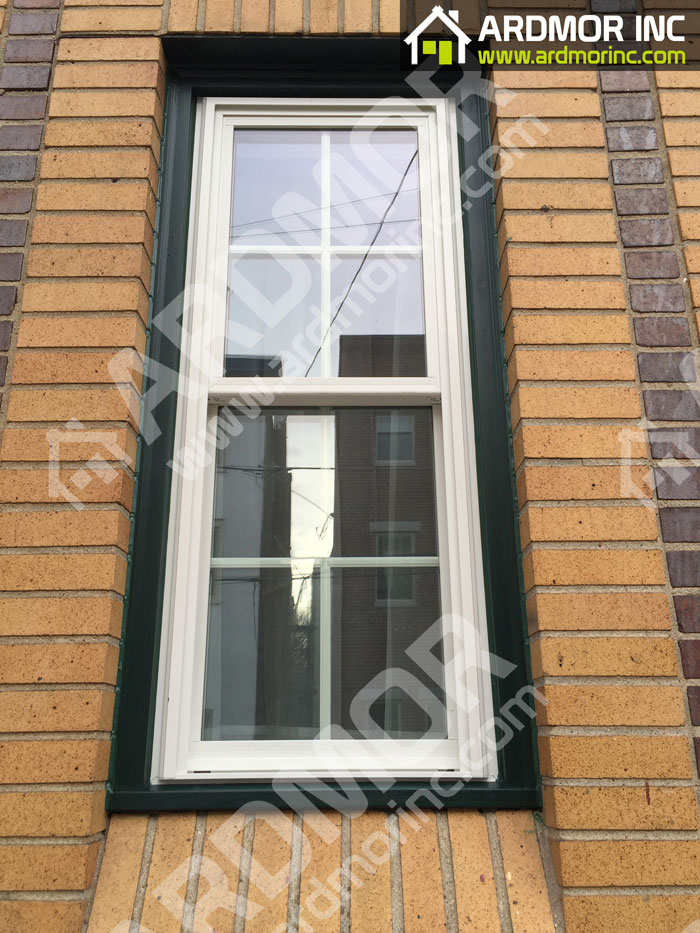 Double_Hung_Window_Install_with_PVC_Trim_in_Jackson_NJ_after
