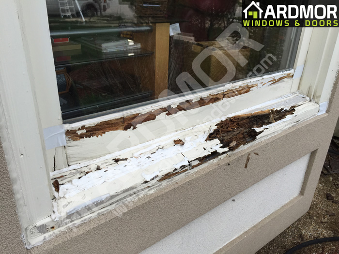 Picture_Window_Sill_Repair_in_Morristown_NJ_before